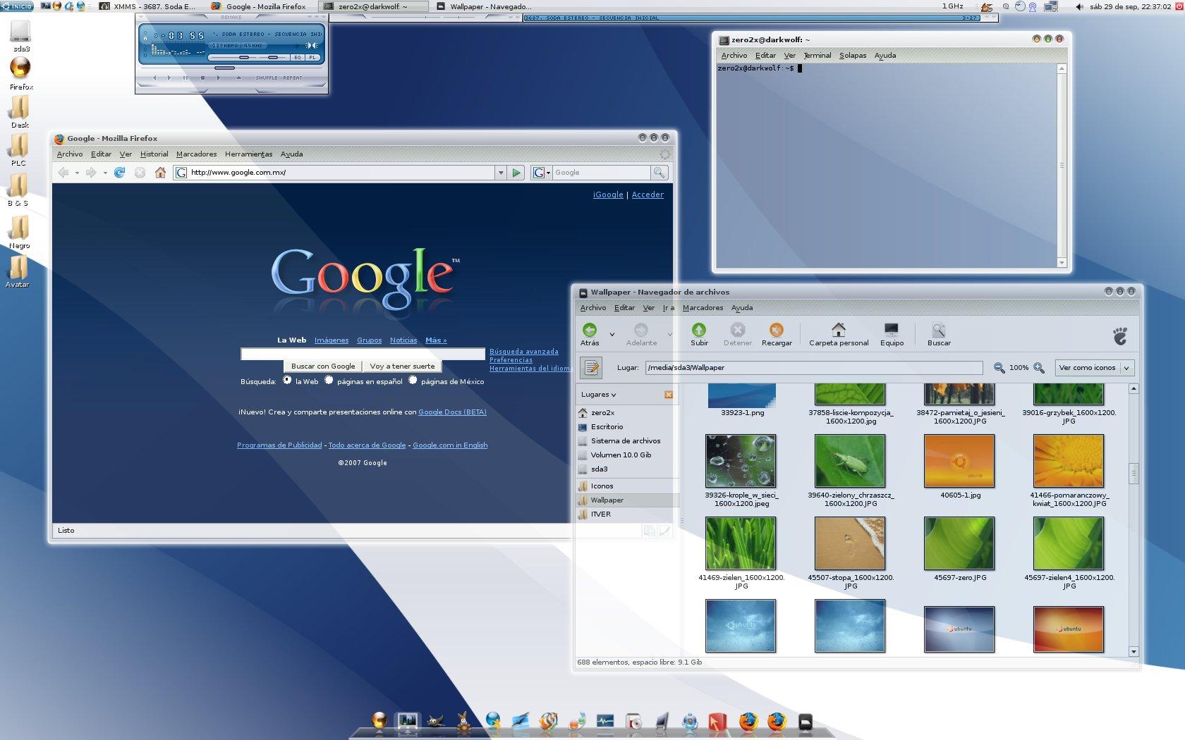 Interfaz Gr 225 Fica Windows Vs Interfaz Gr 225 Fica Linux